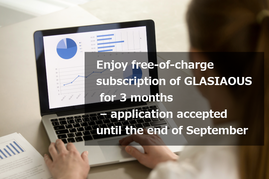 【Limited Offer 2】Business Management in the Post-COVID-19 Era – Try our cloud service GLASIAOUS for free
