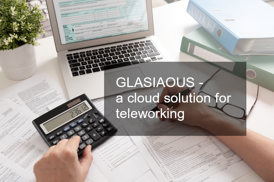 How GLASIAOUS works to overcome  the issues concerning teleworking for accounting people