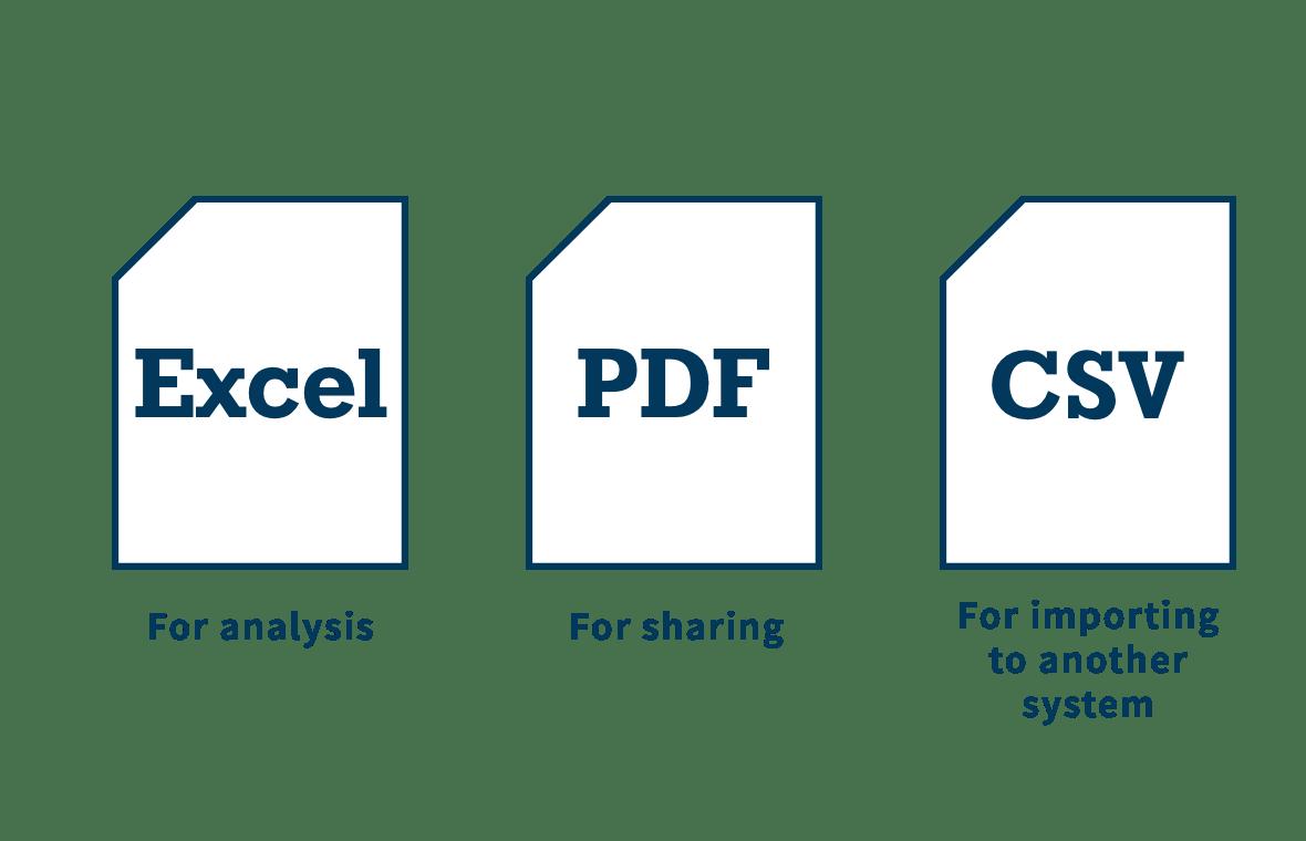 財務データの活用のイメージ